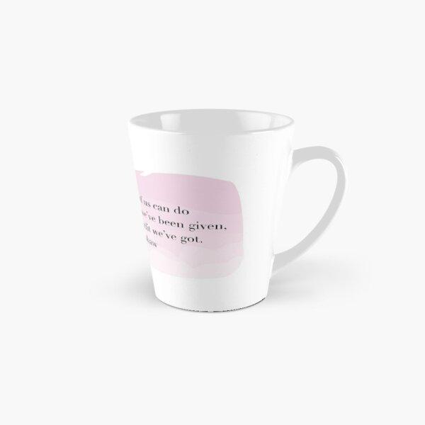Carrie Bradshaw Quote Tall Mug