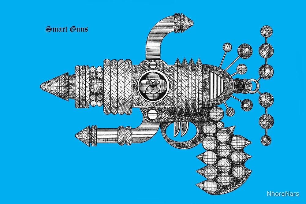 SMART GUNS: MODEL WOMAN HANDBAG by NhoraNars