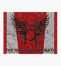 The Harbinger of Death, BSG Photographic Print