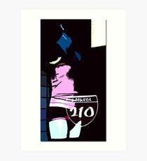 2 10 Art Print
