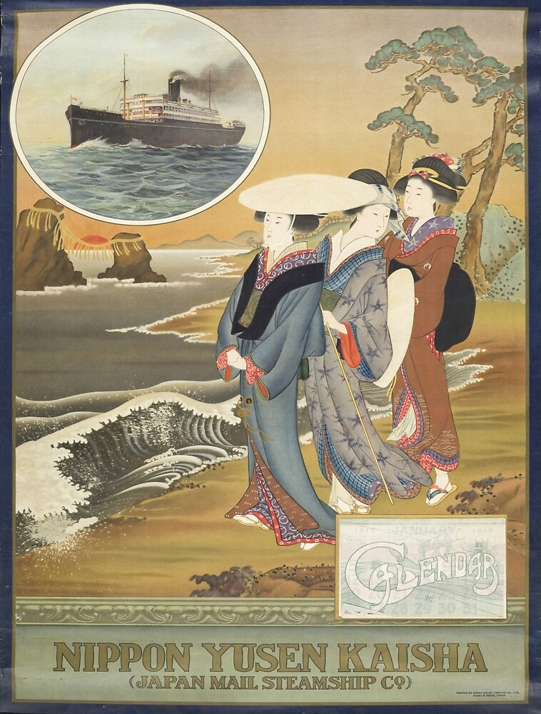 Vintage poster - Nippon by mosfunky