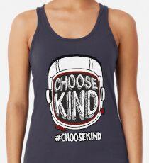 Camiseta con espalda nadadora Elige amabilidad #choosekind