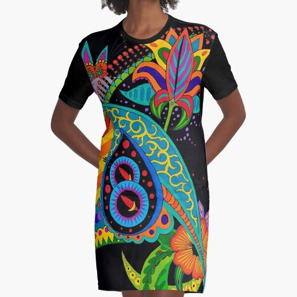 Design 51 single, colored Graphic T-Shirt Dress