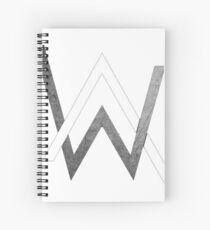Alan Walker - Logo Merchandise Spiral Notebook