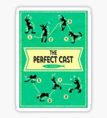 A Goofy Movie - The Perfect Cast Sticker