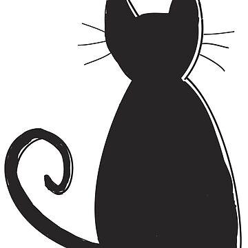 Silueta de gato de DanaAndTheBooks