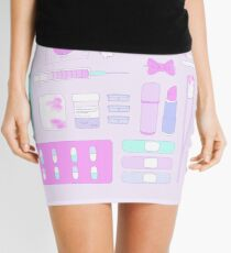Sugar Pills and Bandaids Mini Skirt