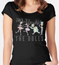 THE DOLLS OF NUTCRACKER Women's Fitted Scoop T-Shirt