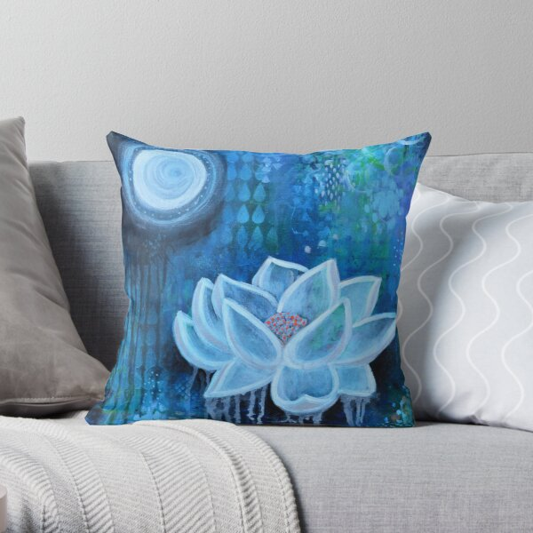 Light Within Darkness Throw Pillow