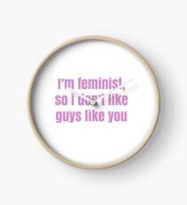 Reloj feminista