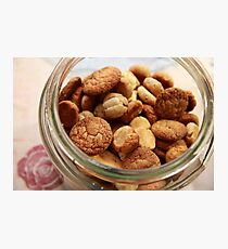 Cookie Jar full of home baked cookies  Photographic Print