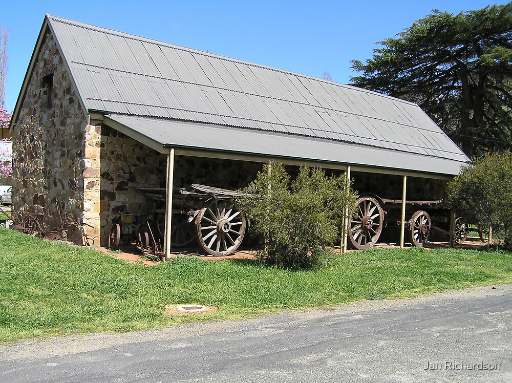 The Stoke Stable Museum, Carcoar, NSW by Jan Richardson