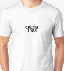 Camiseta unisex CREMA 1983