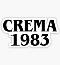 CREMA 1983 Sticker