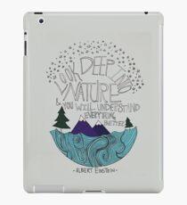 Einstein: Nature iPad Case/Skin