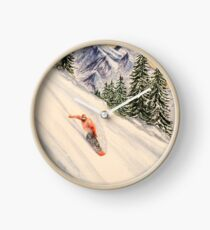 Snowboarding - Free And Easy Leader Clock