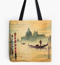 Venice Italy On The Grand Canal Tote Bag