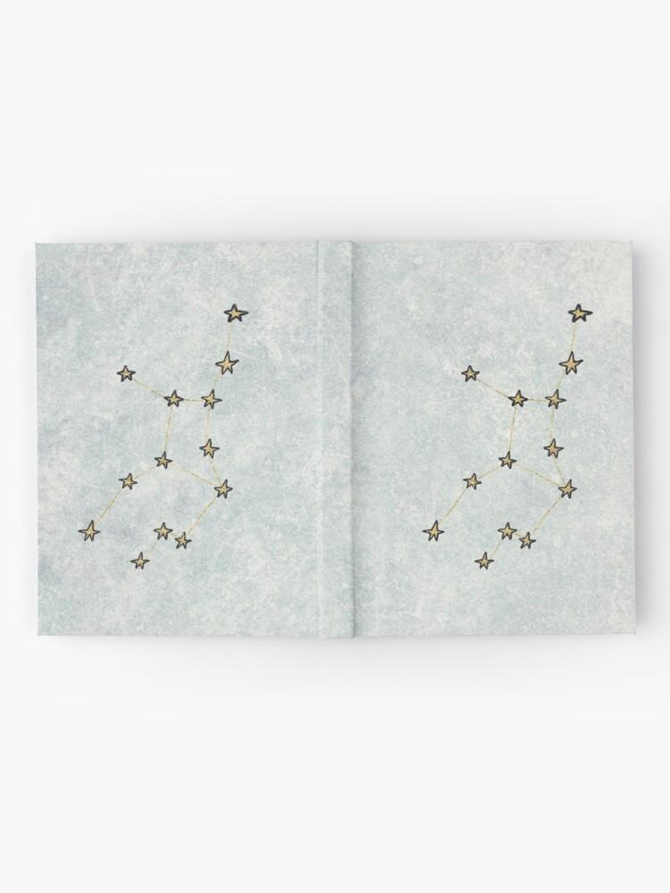 Vista alternativa de Cuaderno de tapa dura Virgo x Astrología x Zodíaco