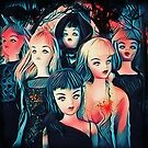 Attack Of The Zombie Fashion Dolls by RobynLee