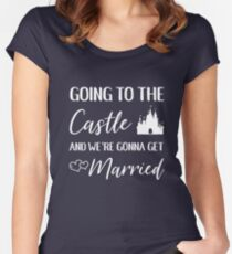 Going to the Castle Women's Fitted Scoop T-Shirt