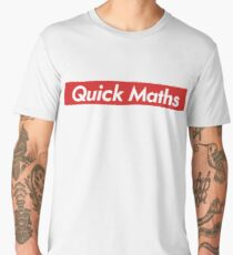 Quick Maths Men's Premium T-Shirt