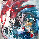 It is Not, Not too Late - Start, original Abstract by Dmitri Matkovsky