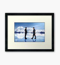 Salt Plains Print Framed Print