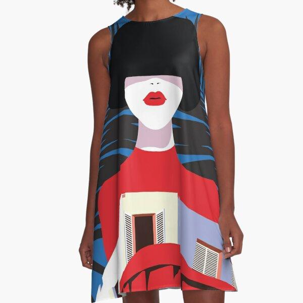 Femme Exotique A-Line Dress