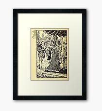Robin Hood and his Merry Men by Maude Radfor Warren art Milo Winter 1914 0166 Your Magesty Framed Print