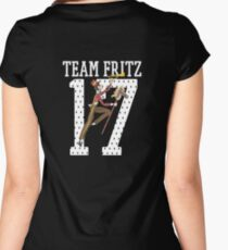 TEAM FRITZ Women's Fitted Scoop T-Shirt