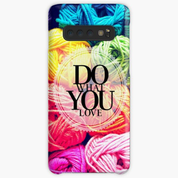 Do What You Love Samsung Galaxy Snap Case