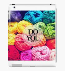 Do What You Love iPad Case/Skin