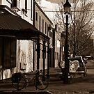Brunswick Street .Melboune  by Christine Wilson