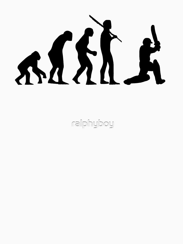 Cricket T-Shirt by ralphyboy