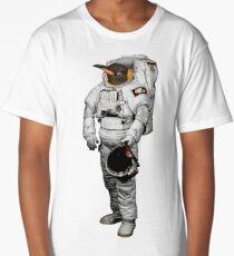 Space Penguin Hoodie Long T-Shirt