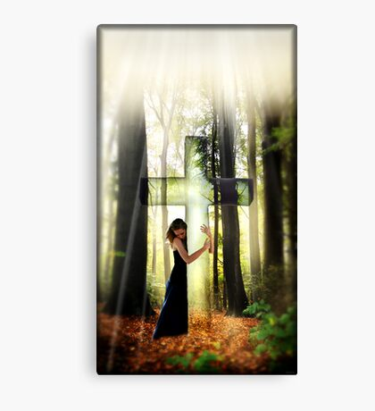 Forgiven Canvas Print