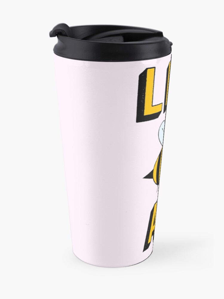 Alternate view of LES BEE AN LESBIAN Travel Mug