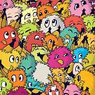 Whole Bunch of Dustbunnies by Anthea  West