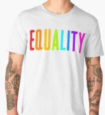 EQUALITY RAINBOW GAY  Men's Premium T-Shirt
