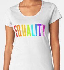 EQUALITY RAINBOW GAY  Women's Premium T-Shirt