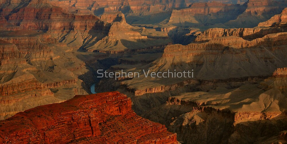 Grand Canyon Shadows by Stephen Vecchiotti