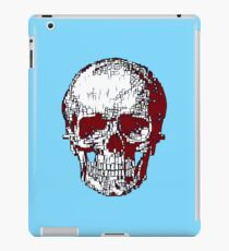 Mondrian Skull iPad Case/Skin