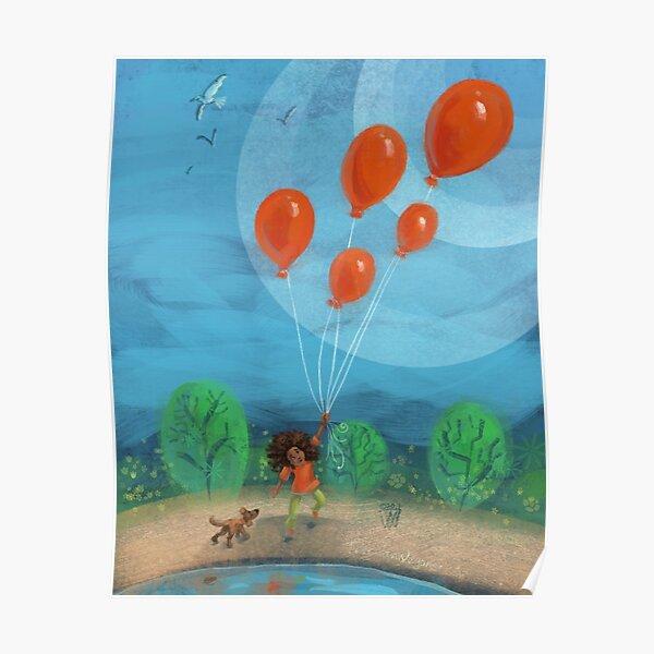 Balloon Lift Off 1 Poster