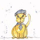 Cullen Tartan Cat by Eliza Fayle