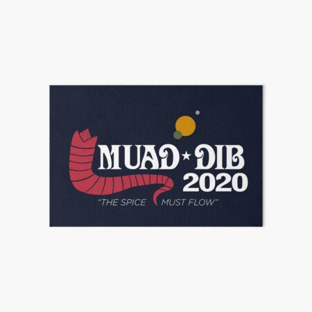 Dune Muad'Dib 2020 Art Board Print