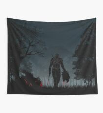 Warriors Landscapes - The Witcher Wild Hunt - Geralt Wall Tapestry