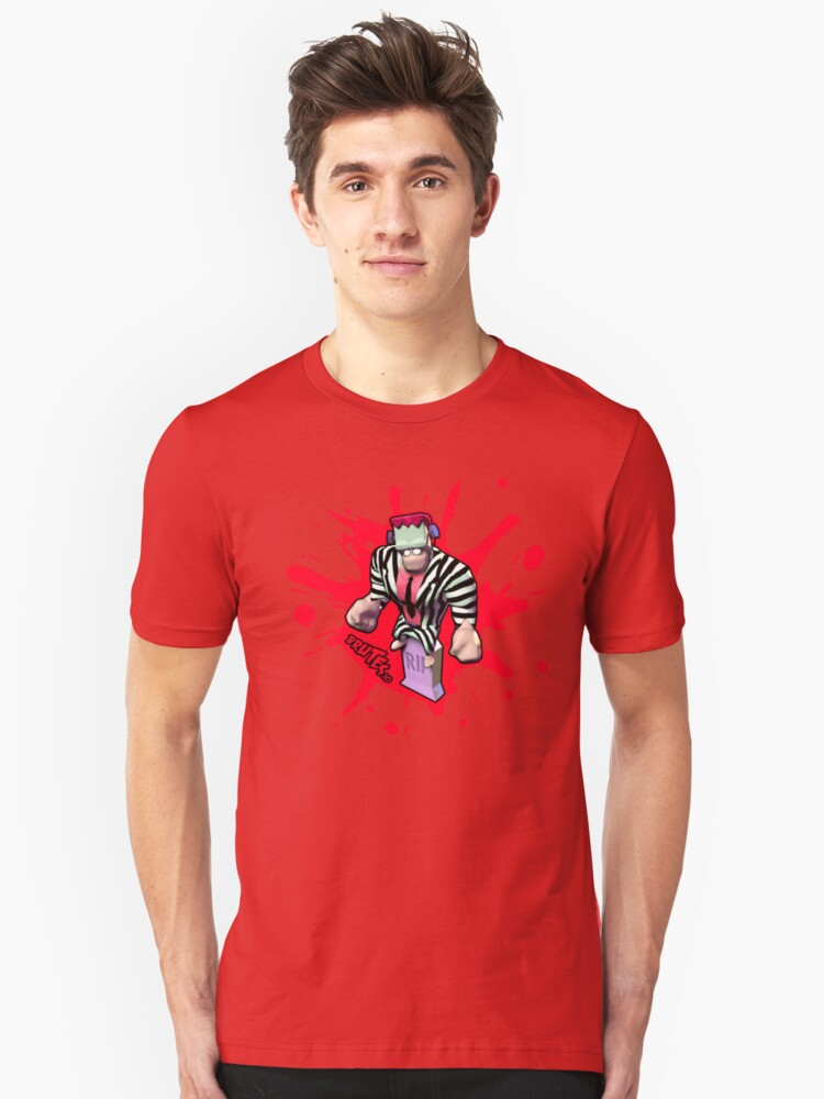 Brutes.io (Frankenbrute Betelgeuse Red) Unisex T-Shirt Front