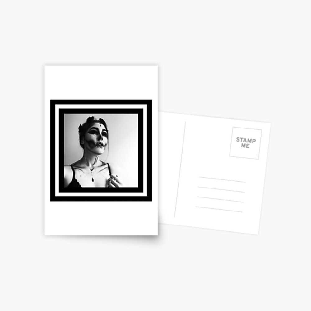 Tödlicher Glamour Postkarte