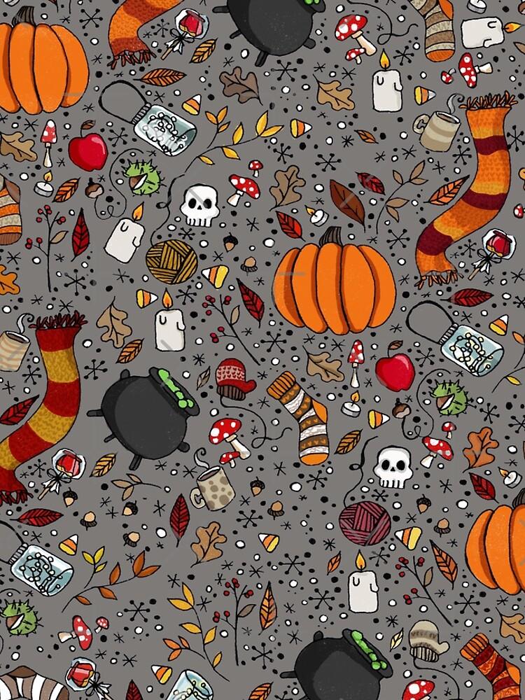 Halloween Pattern by katherineblower