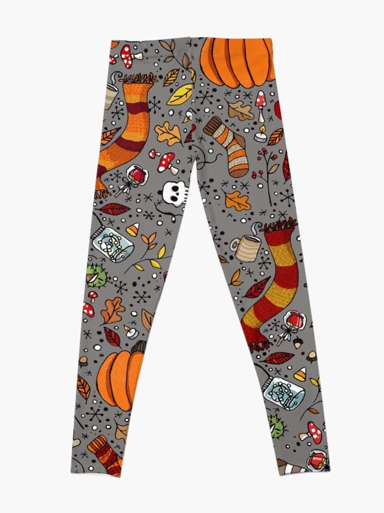 Alternate view of Halloween Pattern Leggings